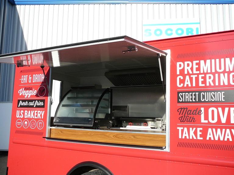 Am nagement camion magasin sp cial fastfood pour - Camion amenage pour cuisine ...