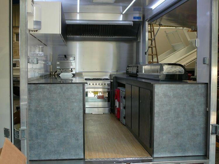 Meubles int rieur sp cial camion magasin professionnel creation de camion magasin et foodtruck - Magasin professionnel cuisine ...